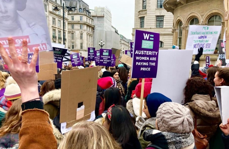 Women March in London